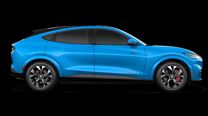 Mustang Mach E Models